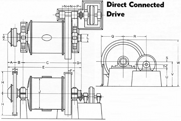 ball-mill-direct-connected-drive