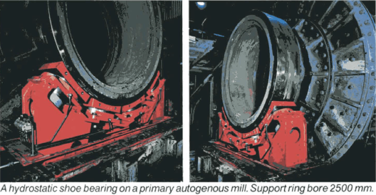 ball-mill-hydrostatic-shoe-bearing