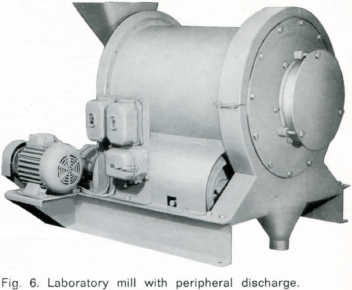 ball-mill-laboratory-mill-with-peripheral-discharge