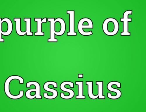Purple of Cassius Preparation
