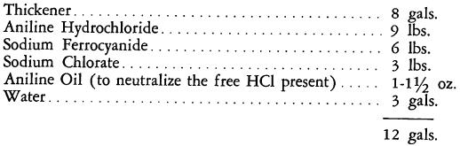 ferrocyanide-thickener