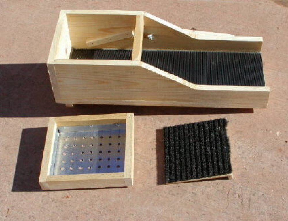 Gold Rocker Box Design