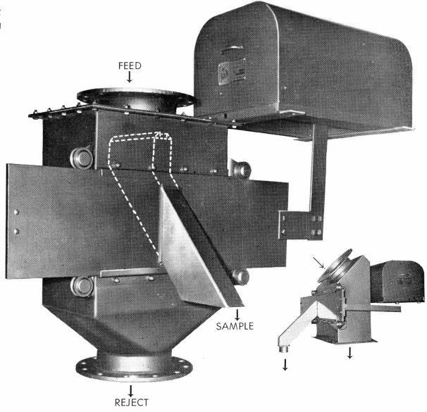 grinding-flotation-chute