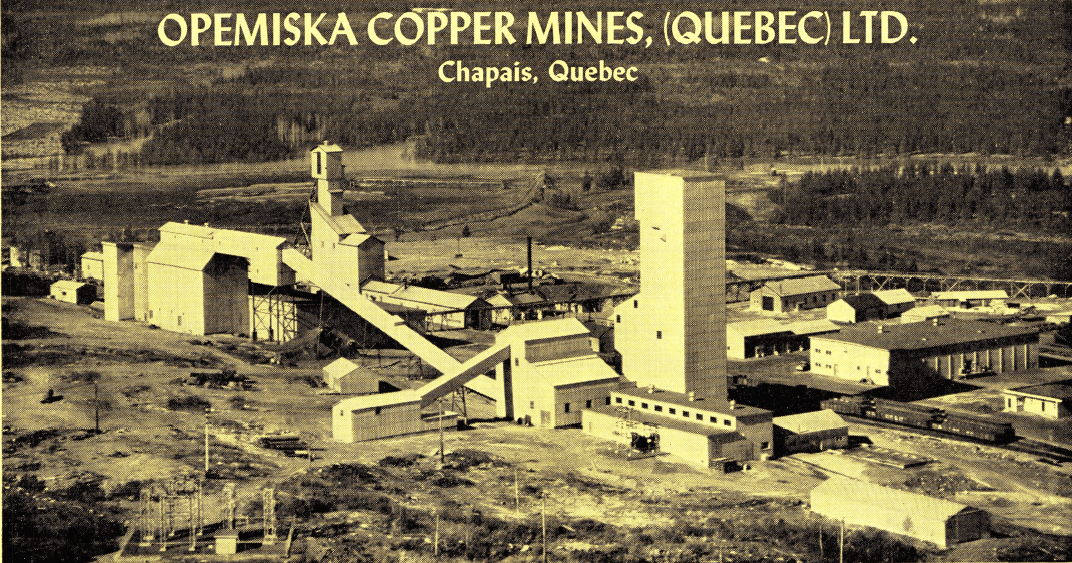 grinding-flotation-opemiska-copper-mines