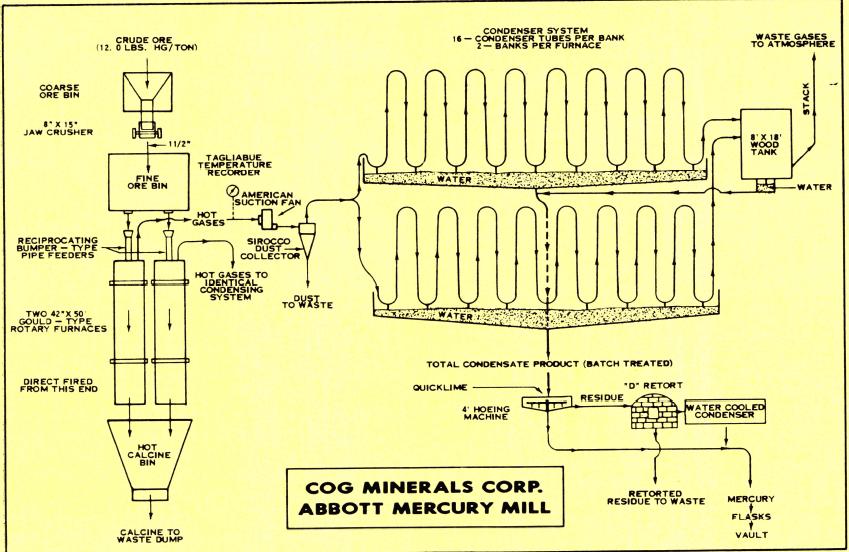 mercury ore processing plant cog