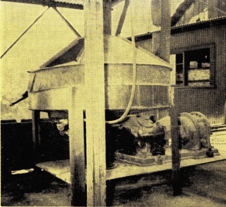 mercury ore processing plant condensate