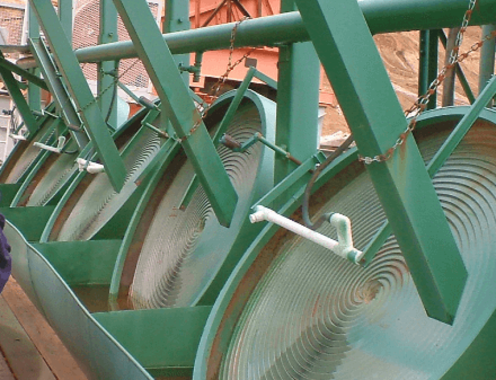 Spiral Wheel Gold Concentrator