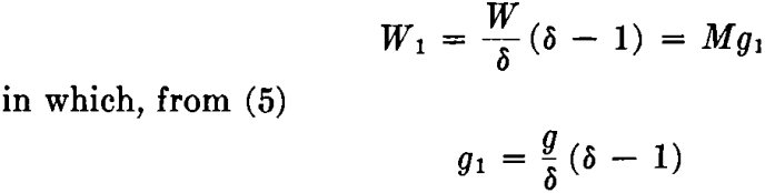 acceleration gravity concentration