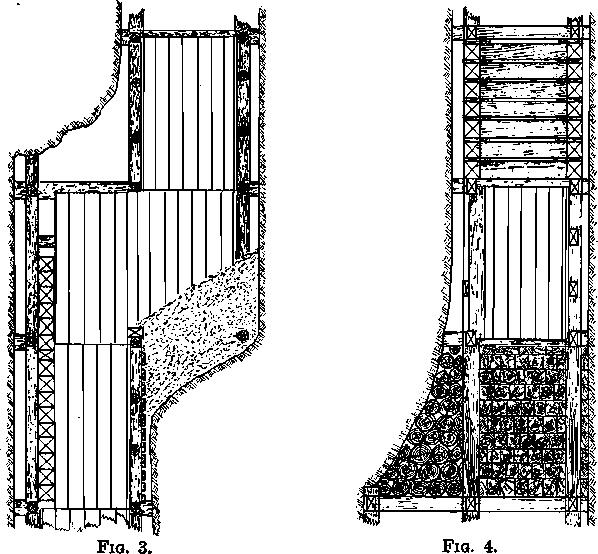 bulkhead pieces handling ore
