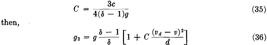 increasing with velocity gravity concentration