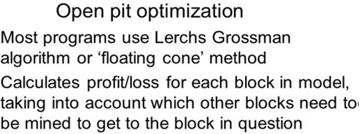 open-pit-optimization