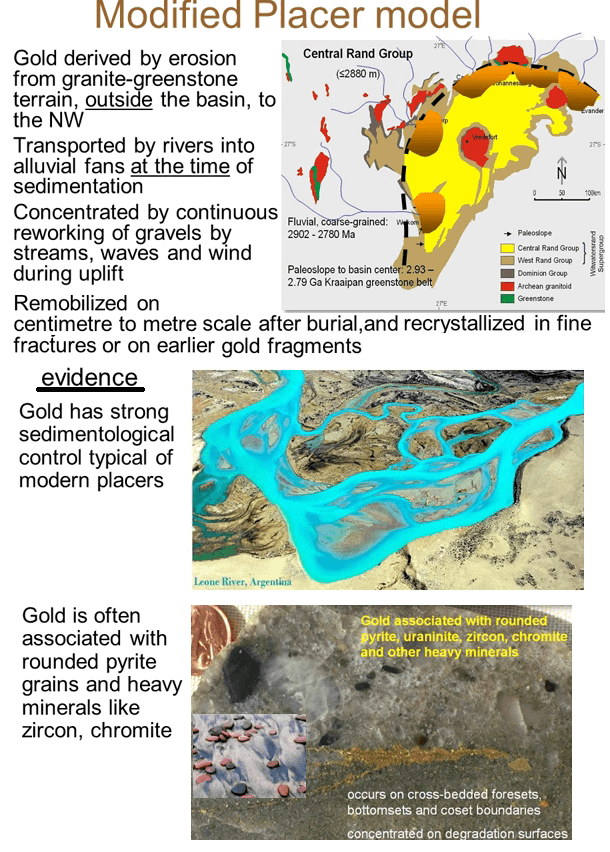 Witwatersrand Gold Deposits