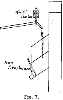 stopboard handling ore