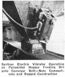 vibrating ore feeder