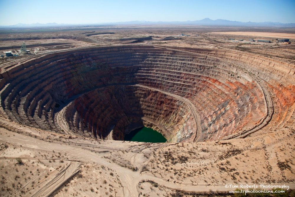 open pit mining pros and cons