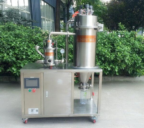 laboratory air classifier