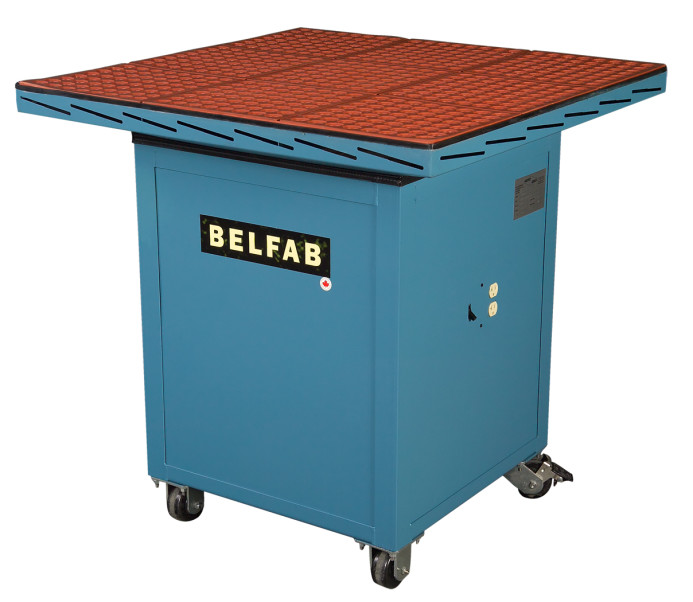 welding downdraft tables