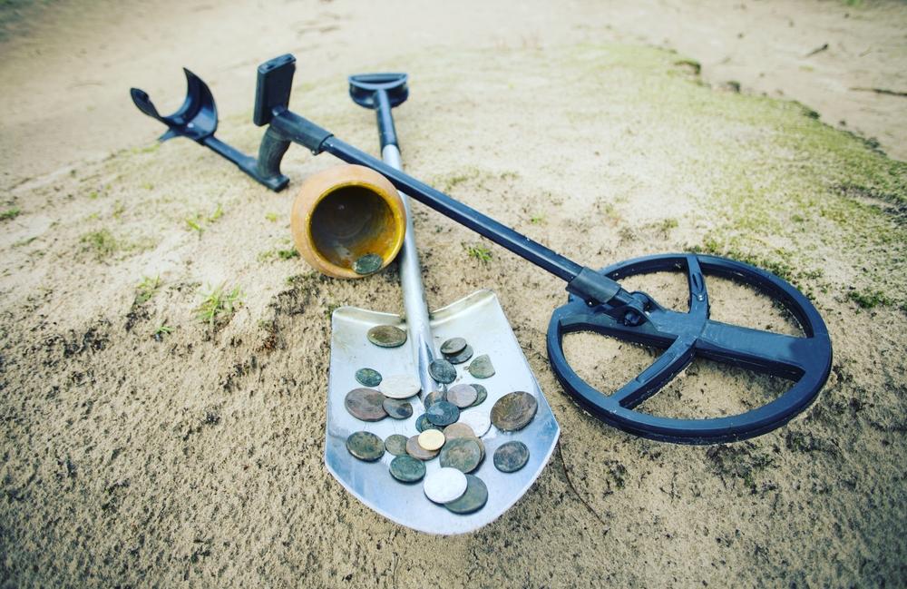 header metal detectors for coins