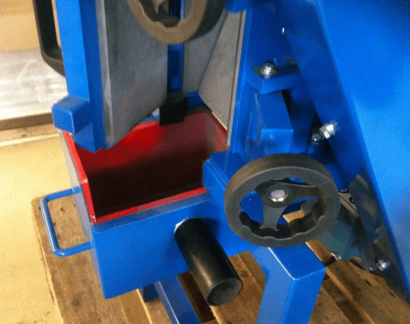 100mm jaw crusher door