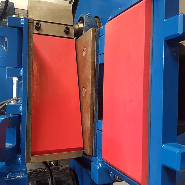 rock crusher polyurethane plates media for contamination free crushing