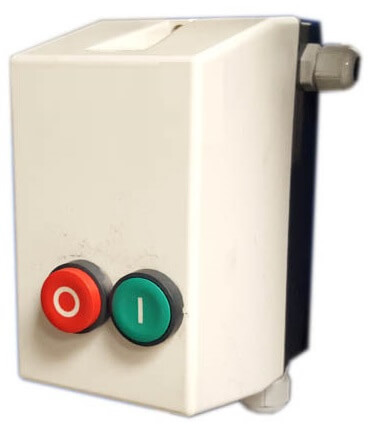 crusher control-box