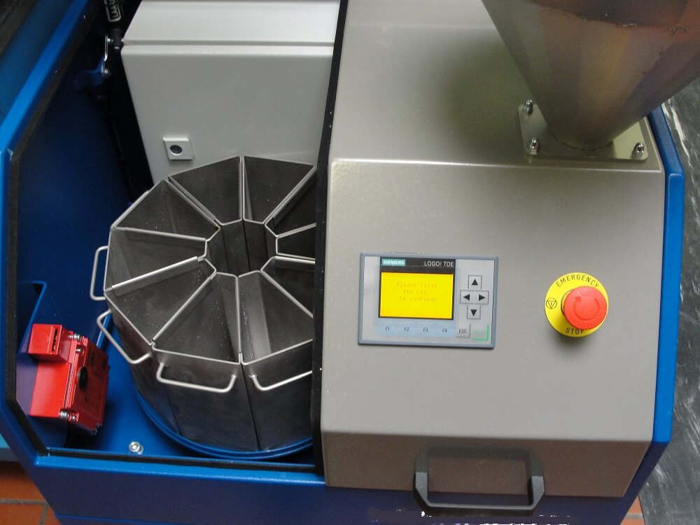 rotary sample splitter (5)