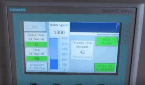 laboratory flotation cell agitator-rotor speed control panel