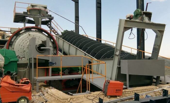 ball mill grinding circuit spiral classifier (1)