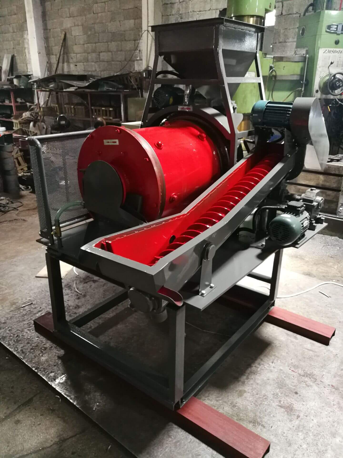 small pilot plant ball mill (2)