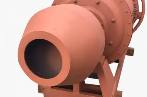 ball mill feed trunnion