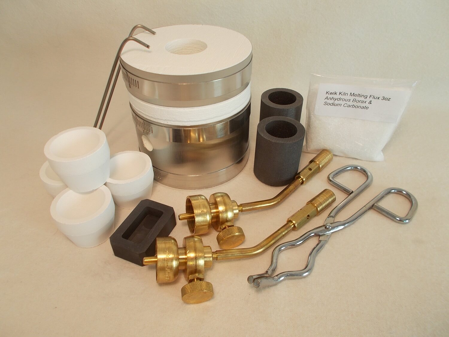 cupellation kit furnace