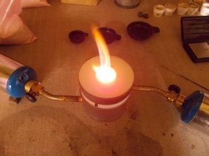 fire assay cupel fusion