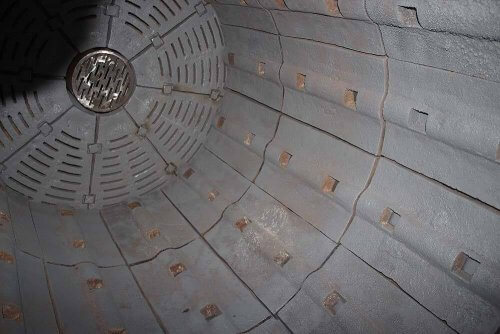 inside ball mill