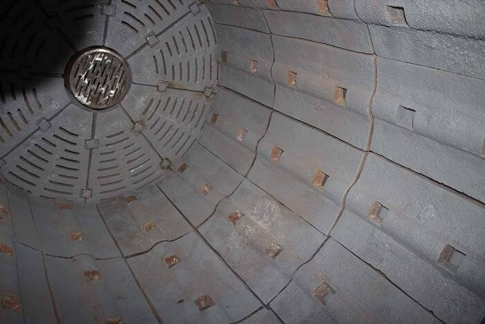 inside ball mill