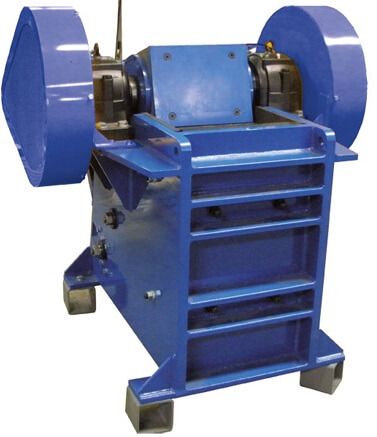 large laboratory jaw crusher