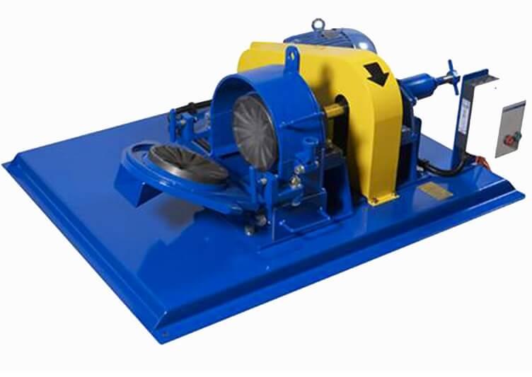 laboratory disk pulverizer