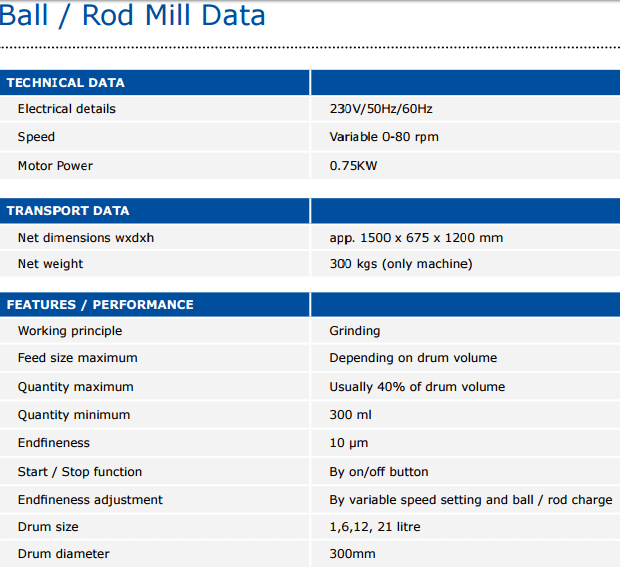 laboratory_ball_mill_specifications