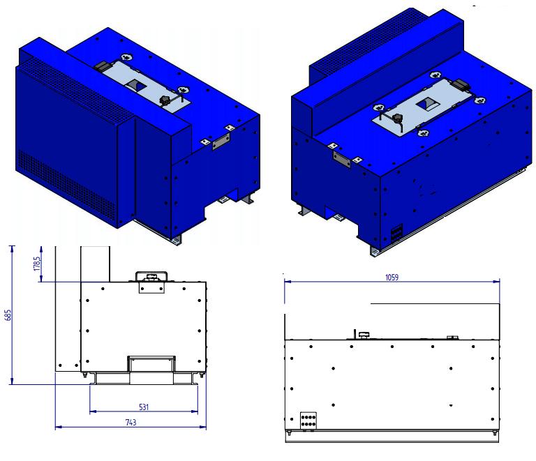 roll crusher dimensions