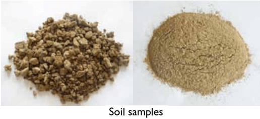 mortar grinder mill grinding soil samples