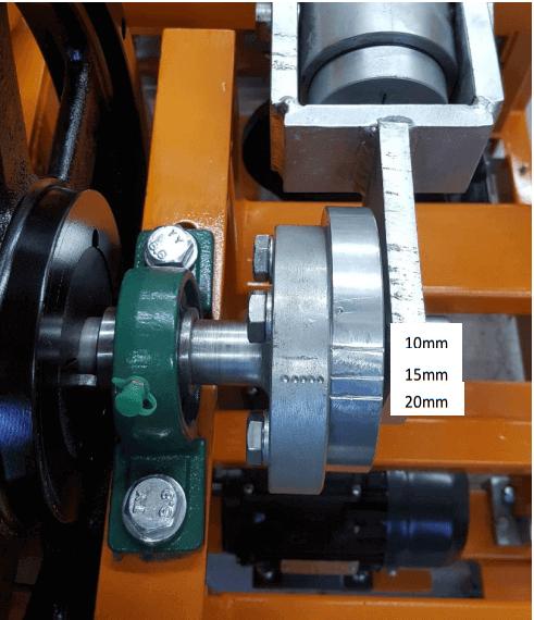 multi gravity separator amplitude-of-shake