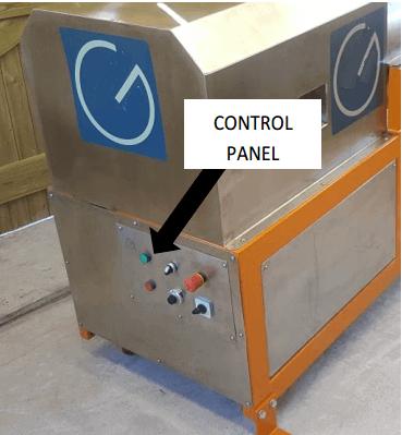 multi gravity separator control-panel