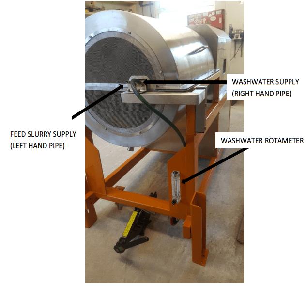 multi gravity separator feed-slurry-supply