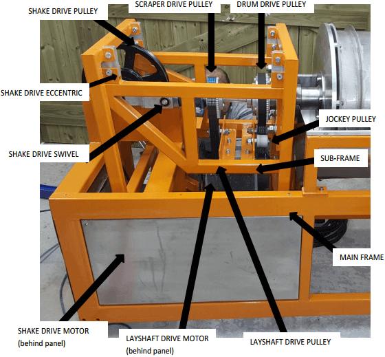 multi gravity separator general-arrangement-mechanical
