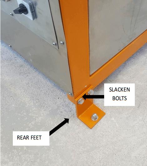 multi gravity separator tilt-adjustment