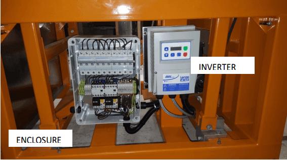 multi gravity separator power inverter