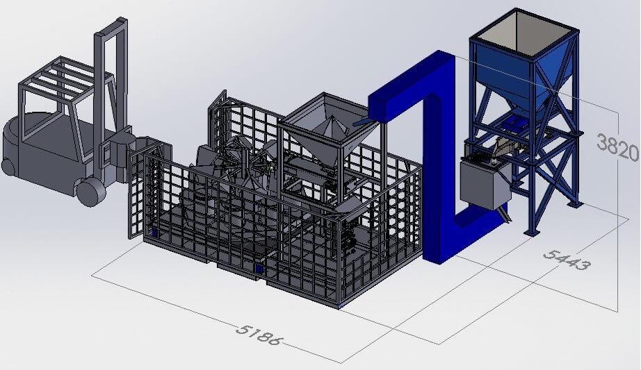 high capacity bulk sample divider