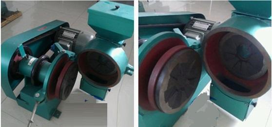 lab disk sample grinder