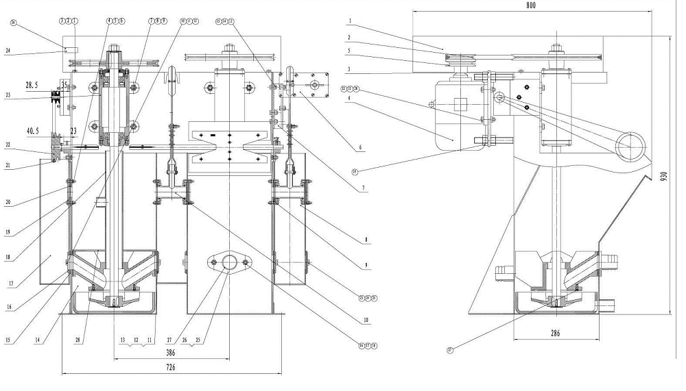 small-flotation machines