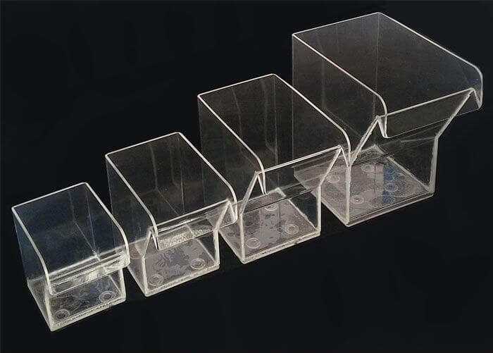 plastic acrylic flotation cells d12