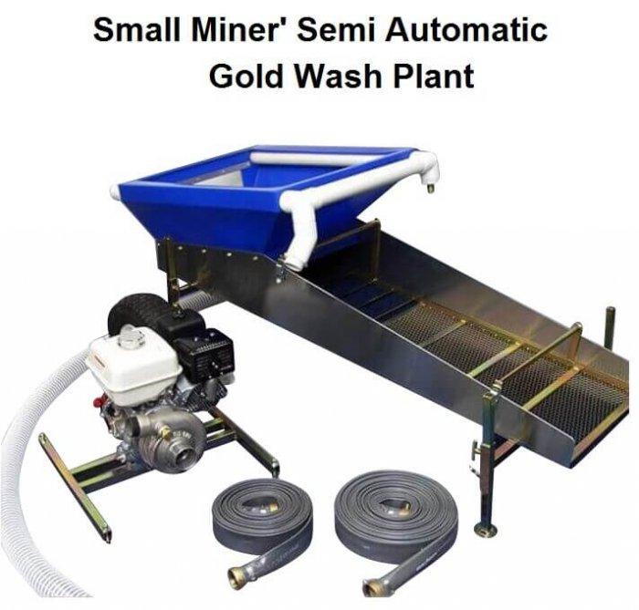 mini gold wash plant